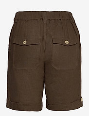 Pulz Jeans - PZBIANCA Shorts - chino shorts - wren - 1