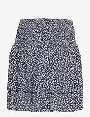Pulz Jeans - PZBENEDIKTE Skirt - korte nederdele - dark sapphire flower printed - 1