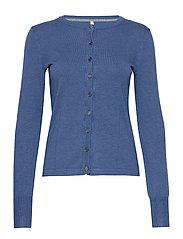 PZSARA L/S Cardigan - CLASSIC BLUE