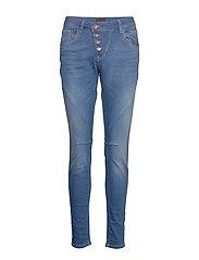 Maiken Loose Jeans - BRIGHT BLUE DENIM