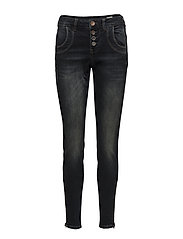 Melina Loose Jeans - DARK BLUE DENIM