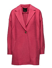Lula Wing Sl. coat - MAGENTA
