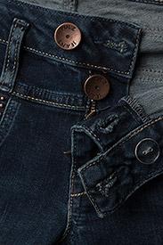 5a38372f46c Anett Midwaist Skinny (Dark Blue Denim) (£125) - Pulz Jeans ...