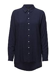 Kenya L/S Shirt - ULTRA MARINE
