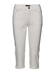 Tenna Highwaist Capri - WHITE