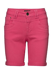 Tenna Highwaist Shorts - MAGENTA