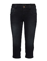 Tenna Highwaist Capri - DARK BLUE DENIM