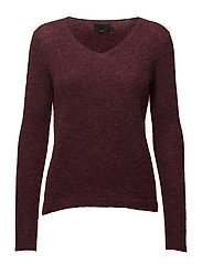 Astrid L/S Pullover - CHERRY ROSE