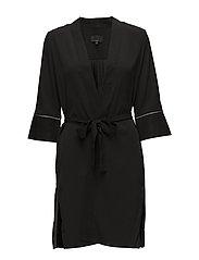Asia 3/4 Sl. Kimono - BLACK