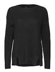 Disa L/S Pullover - BLACK