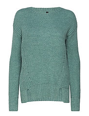 Disa L/S Pullover - ISLAND GREEN