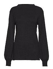Crista L/S Pullover - BLACK
