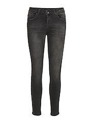 Belinda Midwaist Skinny Ankle Lengh - BLACK DENIM