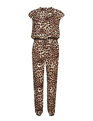 Cairo jumpsuit - CHOCOLATE BROWN