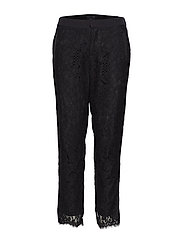 Lucy Ankle length Pant - BLACK