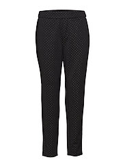 Sparkle Loose Pant - BLACK
