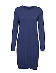 Sara L/S Dress - TWILIGHT BLUE