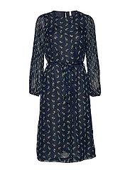 PZGERTRUD Dress - BLUE MARINE