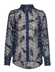 PZGERTRUD Shirt - BLUE MARINE