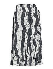 PZSNAKE Skirt - JET BLACK