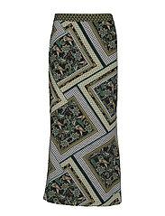 PZLEMON Skirt - CROCODILE GREEN