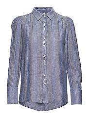 PZJANE shirt - LIGHT BLUE DENIM