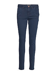PZMELINA Loose Pants - BLUE MARINE