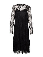 PZLAURINE Dress - BLACK