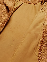 Pulz Jeans - PZTEDDY Jacket - sztuczne futro - pecan brown - 3
