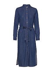 PZJOSIE Dress - MEDIUM BLUE DENIM