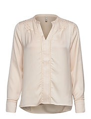 PZHATTIE Blouse - PEARLED IVORY