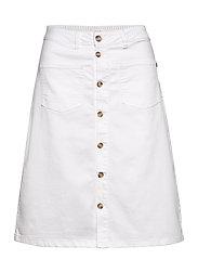 PZDITTE Skirt - BRIGHT WHITE