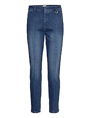 PZCLARA Jeans - DARK BLUE DENIM