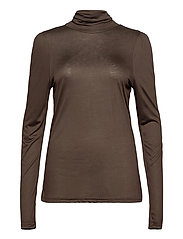 PZCARLA T-shirt - CHOCOLATE BROWN