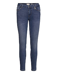 PZANNA Jeans Skinny leg - MEDIUM BLUE DENIM