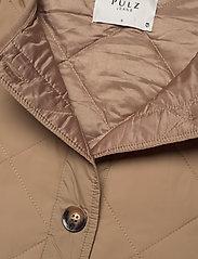 Pulz Jeans - PZELINA Waistcoat - lette frakker - tannin - 4