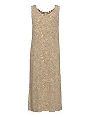 PZBENEDIKTE Dress - TANNIN FLOWER PRINTED