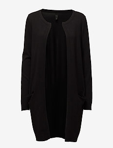 PZSARA Long Cardigan - BLACK