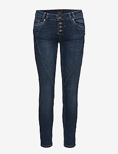 Rosita Midtwaist Ankle - MEDIUM BLUE DENIM