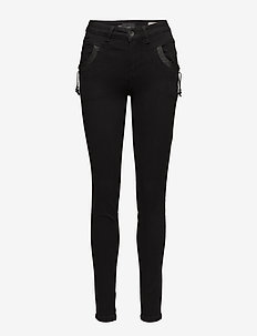 Carmen Highwaist Skinny - BLACK DENIM