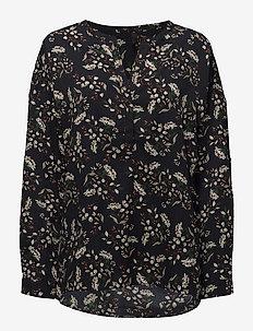 Noga blouse - långärmade blusar - ultra marine