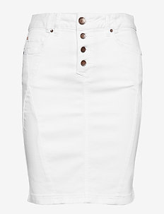 Rosita skirt twill - OPTICAL WHITE