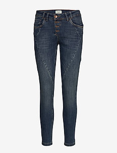 Rosita Ankle Jeans - medium blue denim