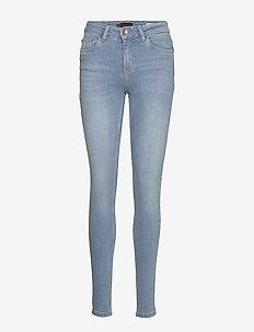 Kamilla Highwaist Super Skinny - skinny jeans - light blue denim