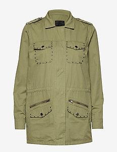 PzNomi L/S Jacket - COVERT GREEN