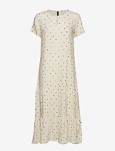 PzAida S/S Dress - CHAMPAGNE