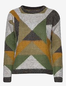 PZTRIANGLE L/S Pullover - CROCODILE GREEN