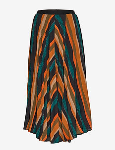 PZZENZA Skirt - midi skjørt - multicolored