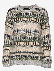 PZLOTTA L/S Pullover - CROCODILE GREEN