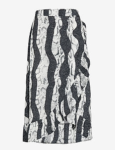PZSNAKE Skirt - JET BLACK